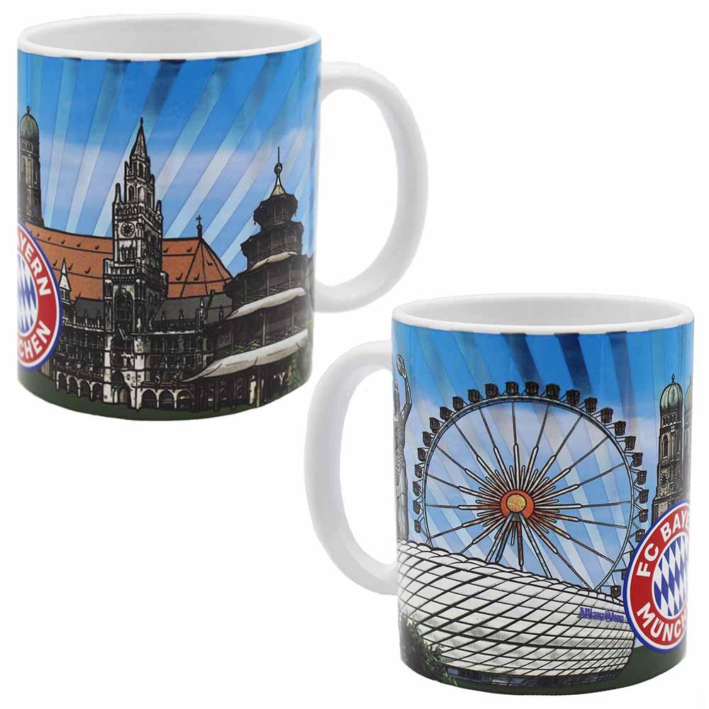 FC Bayern M/ünchen Tasse Skyline